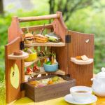 『軽井沢ホテルブレストンコート』のアフタヌーンティーで春の味覚に舌鼓