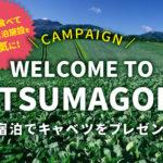 『Welcome to TSUMAGOIキャンペーン』で嬬恋村産の美味しいキャベツをゲットしよう!