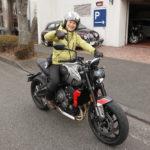 『トライアンフ横浜港北』訪問記:話題のストリートモデルに乗ってみた!②『トライデント660』編
