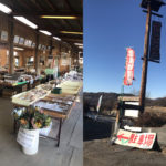 【サポーターブログ】パン&カフェ『ティノ』のエンジョイ6輪生活!:佐久の農産物が並ぶ『赤坂直売所』
