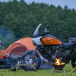 ハーレー初のアドベンチャーツーリングモデル『Pan America 1250』体験記③:キャンプツーリングとの相性は?