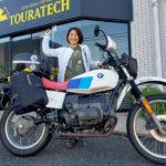 【WOMANブログ】バイクの取り回しに悩むキャンパー必見!ツアラテック『ディスカバリー Waterproof』を体験してみた(コバユリ)